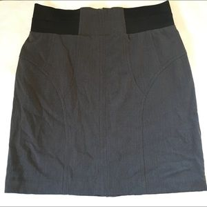 Women's Gray Pencil Skirt Size 16